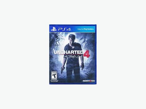 Sealed uncharted 4 ps4