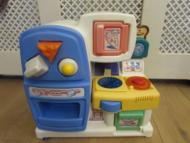 Little tikes baby kitchen playset shape sorter
