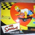 Simpsons skateboard chase scalextric