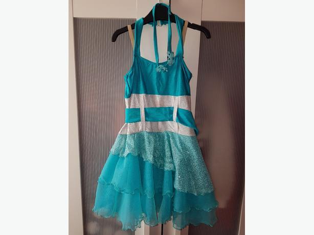 Torquise modern dress