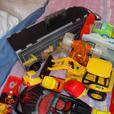 joblot boys toys fire engine tractors diggers cars