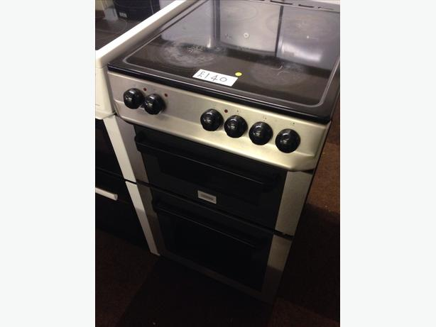 ZANUSSI 50CM CERAMIC TOP ELECTRIC COOKER