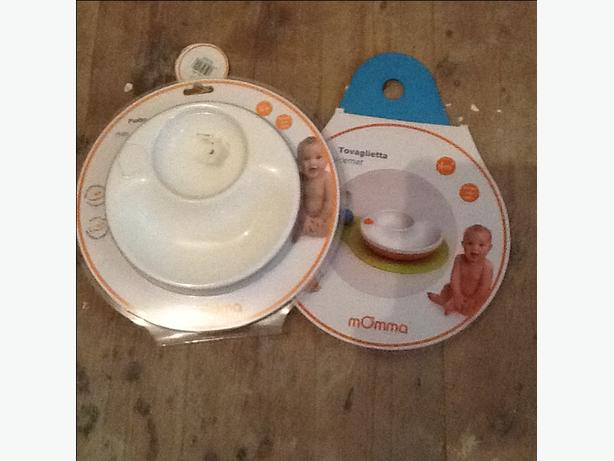 Brand new momma baby plate and place mat