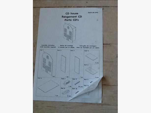Cd/storage house