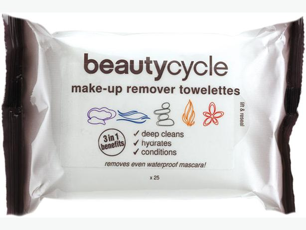 AMWAY beautycycle make-up remover toweletts 3in1benefits