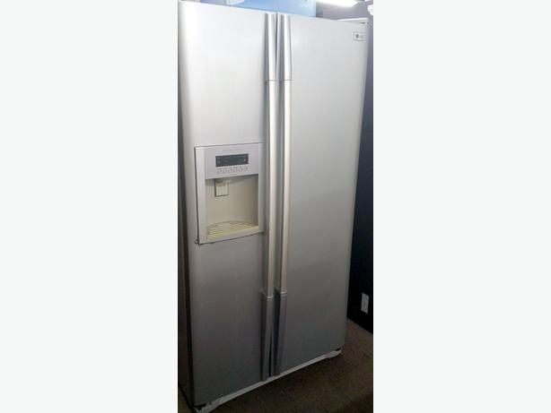 LG AMERICAN STYLE FRIDGE FREEZER + WARRANTY