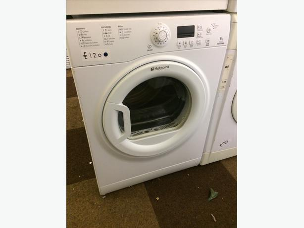 8KG HOTPOINT VENTED DRYER
