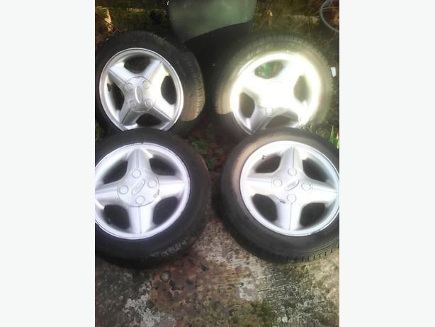 ford fiesta mk4 original alloys