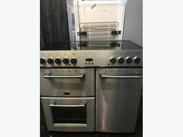 BELLING KENSINGTON FULLY ELECTRIC 90CM RANGE COOKER