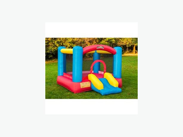 bouncy castle and blower