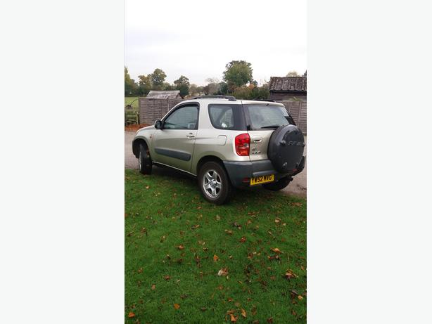 2002 TOYOTA RAV4,FULL MOT,SENSIBLE MILEAGE.