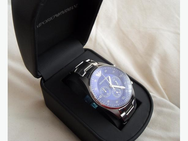 BRAND NEW ARMANI WATCH AR5860 CERTIFICATE BOOK WITH TAG