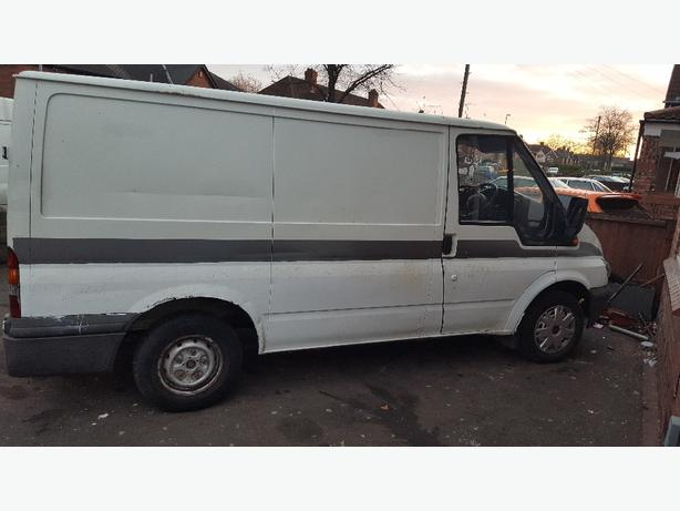 2001 Ford Transit t280 mot April 2017
