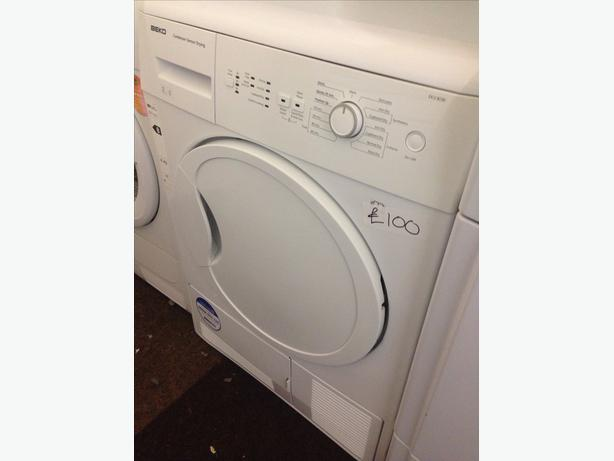 BEKO 8KG CONDENSER DRYER WHITE