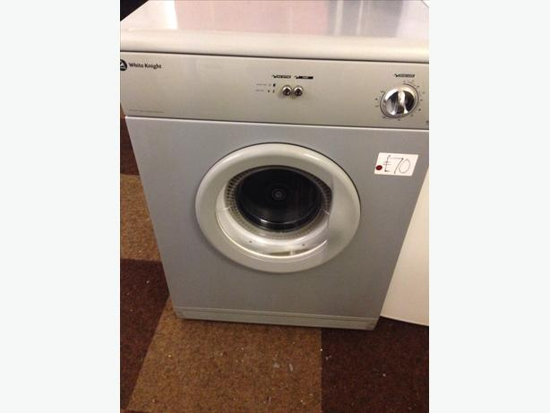 WHITE KNIGHT 6KG SILVER VENTED DRYER