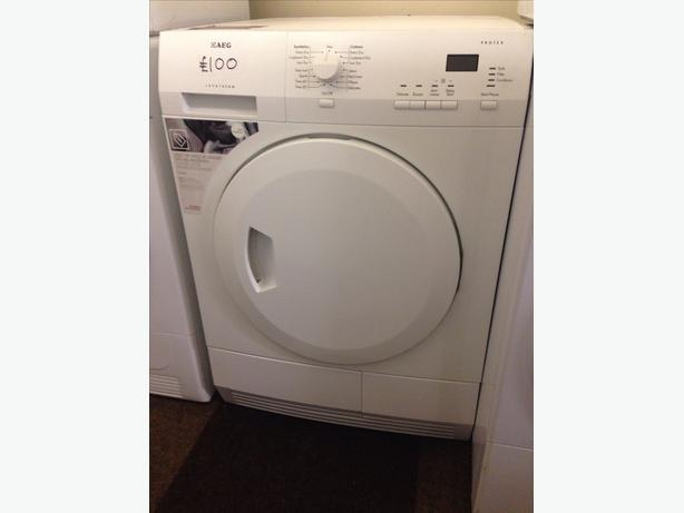 AEG 6KG CONDENSER DRYER WHITE