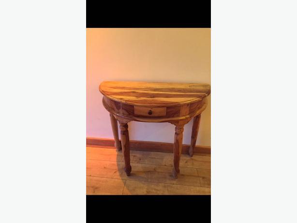sheesham console / dressing table
