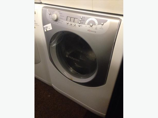 HOTPOINT AQUALTIS 8KG WASHING MACHINE