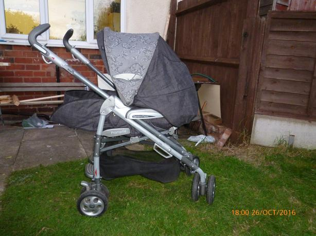 Mamas & Papas Pilko P3 Pramette Pram/Push chair