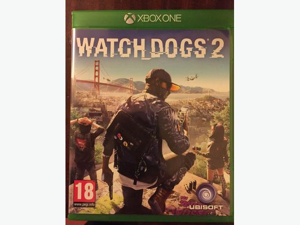 WATCH DOGS 2 XBOX ONE GAME, LIKE NEW