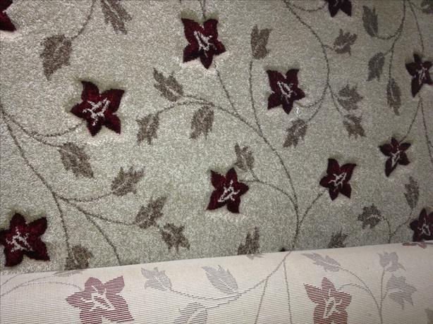 Brand New Flower carpet offcut