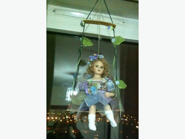 Antique swing doll