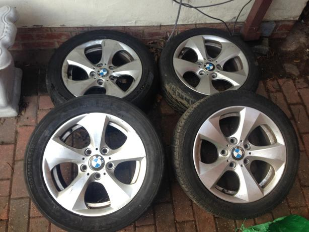 "BMW E90 E91 ALLOYS 16"" 1 SERIES 3 SERIES 5 SERIES"