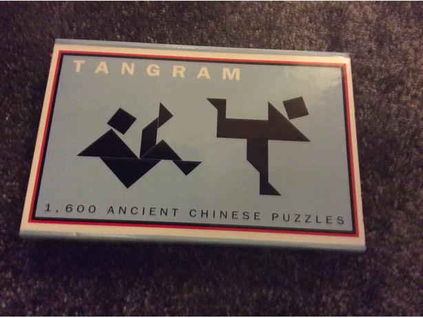 Tangram ancient Chinese puzzle game