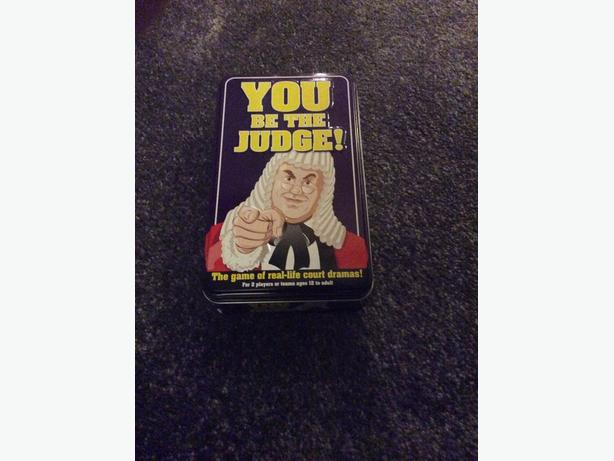Paul Lamond - You be the judge board game