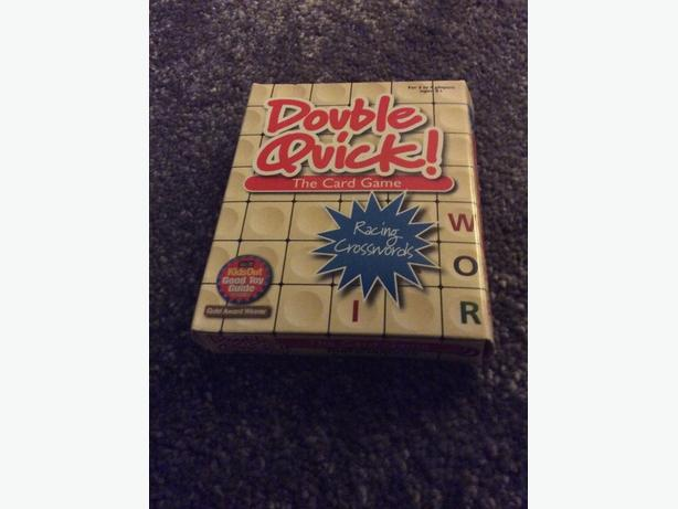 Double Quick - card game