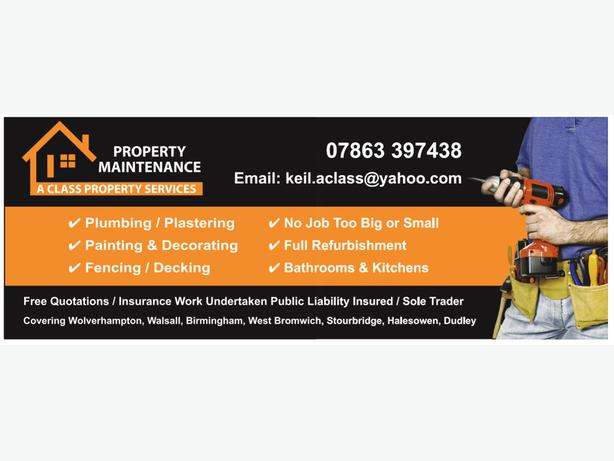 A Class Property Services (Refurbs & Repairs) Letting Agents