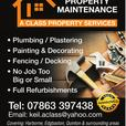 Drains, Man Holes, Guttering, Down pipes, Felting, Roofing