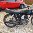 OFFROAD FIELD BIKE, HONDA CG 125-1991-NOT ROAD LEGAL