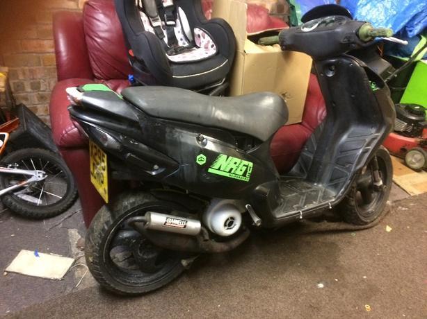 nrg 50cc moped