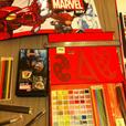 Marvel Drawing Set