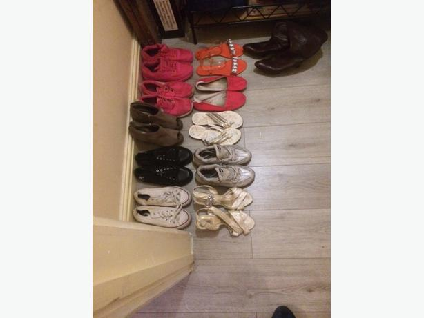 job lot of shoes