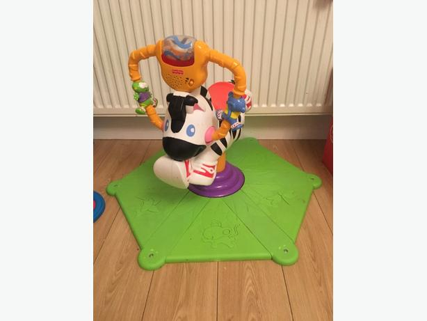 fisher price horse bouncer