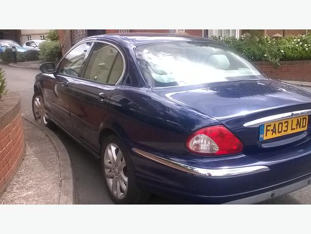 2003 JAGUAR X-TYPE V6 BLUE mint condition
