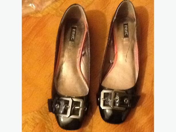 Black next shoes size 5