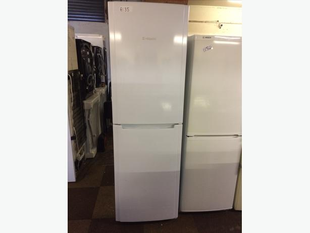 WHITE HOTPOINT FRIDGE FREEZER