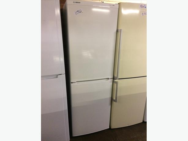 BOSCH FRIDGE FREEZER WHITE2
