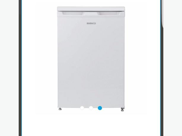 beko under counter fridge with icebox