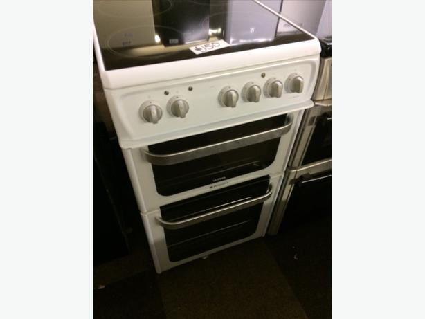 HOTPOINT ULTIMA 50CM FAN ASSISTED ELECTRIC COOKER