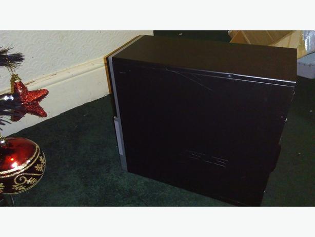 Fast Desktop Pc Tower Win 7 Dual Core 2 5ghz 2gb Ram 80gb
