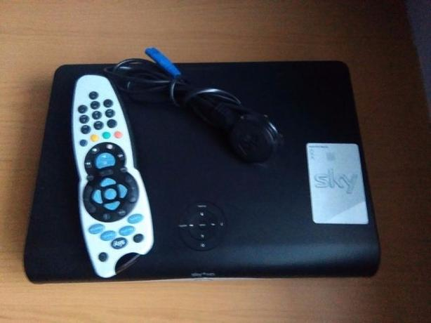 Sky+HD Box with viewing card and Remote Control