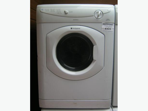 Loading Tumble Dryer ~ Hotpoint vtd vented tumble dryer kg load month