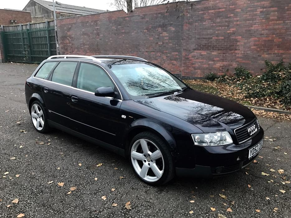 2002 39 52 39 audi a4 avant 1 9 tdi estate s line alloys b6. Black Bedroom Furniture Sets. Home Design Ideas