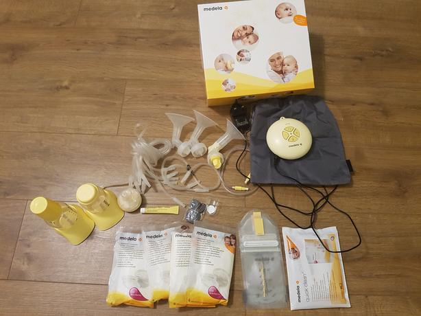 Medela Swing Breast Pump With Calma Teat Outside Black Country