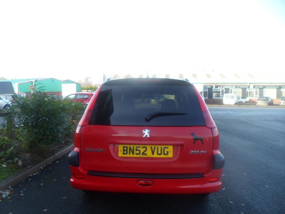 Peugeot 206 Xt Sw Estate 1 4 Petrol 2002 Long Mot Other