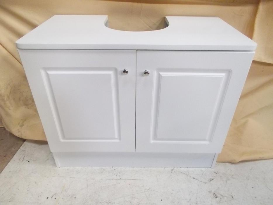 Wash basin base cabinet wuth 2 doors walsall wolverhampton for Bathroom cabinets 70cm wide